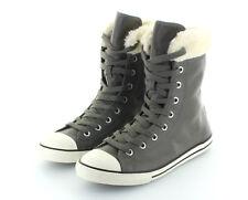 a3a3a5c73a737 Converse All Star Chuck Taylor XHi Dainty Charcoal Leather gefüttert Gr. 37