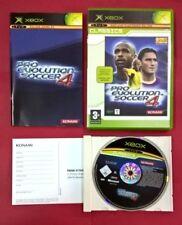 Pro Evolution Soccer 4 - XBOX - USADO - MUY BUEN ESTADO