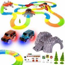 Magic Tracks RENNBAHN RIESEN Version 480 Teile 675cm 2 Autos Trucks Rennbahnset