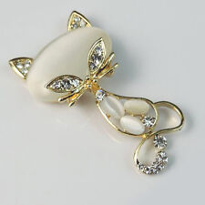 Opal Cat Alloy Jewelry Accessories DIY Phone Case Decoration Kit