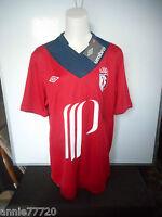 Maillot Football Tailles M / XL Umbro Losc Lille Extérieur 2012-2013 Rouge 2 mod