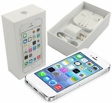 New In Box Apple iPhone 5s 16 GB Silver Factory Unlocked for ATT T-Mobile