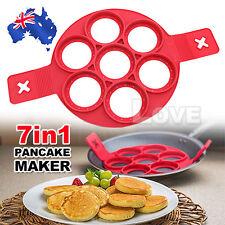Non Stick Flipper Pancake Pan Perfect Breakfast Maker Egg Omelette Flipjack Tool