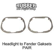 1958 1959 1960 Ford Thunderbird Headlight to Fender Gaskets - pair