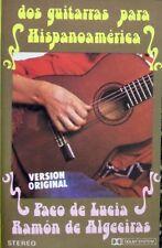 Dos Guitarras  Para Hispanoamerica  Paco De Lucia/Ramon De Algeciras  Cassette