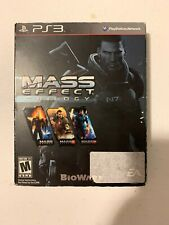 Mass Effect Trilogy (Sony PlayStation 3, 2012) PS3 Complete TESTED