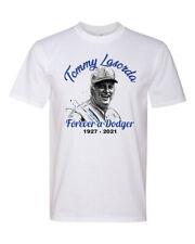 Legend Tommy Lasorda Forever a Dodger Remembrance Fashion Tee T-Shirt