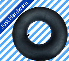 "4.10 / 3.50 - 4 Inner Tube For Pneumatic Wheel Trolley Wheel 10"" Bent Valve air"