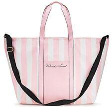 VICTORIA'S SECRET Pink Striped WEEKENDER Canvas Tote Travel Beach Bag 2020 $69