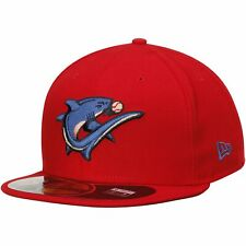 Clearwater Threshers New Era Authentic 59FIFTY Fitted Hat - Red
