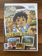 Go Diego Go Safari Rescue (Nintendo Wii, 2008)