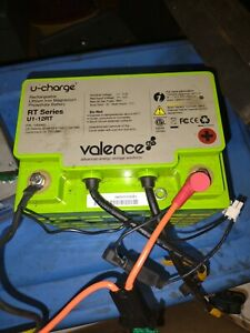 Valence U-Charge RT Series U1-12RT LITHIUM IRON Battery 12V 40Ah 512wh 80A(C4-1)
