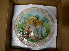 1994 Cherished Teddies Jack And Jill Nursery Rhyme Plate - 114901