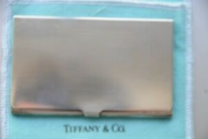 new Vintage Tiffany & Co Sterling Silver Business Card Case