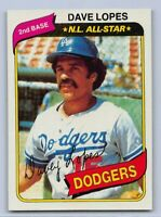 "1980  DAVE LOPES - Topps ""N.L. ALL STAR"" Baseball Card #560- LOS ANGELES DODGERS"
