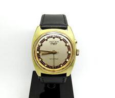 Rare 1960's Vintage Mens VULCAIN CRICKET Alarm Swiss Winding Wrist Watch S2311B