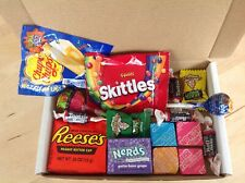 American Candy Gift Box Hamper Sweets Birthday Jolly Ranchers Warheads Reese's
