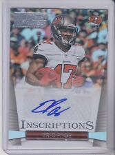 2014 Panini Hot Rookies Eric Page Inscriptions Rookie Autograph  Buccaneers