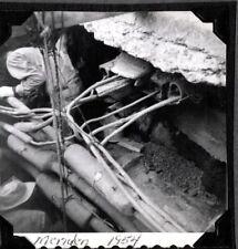 VINTAGE PHOTOGRAPH 1954 MEN WORKING U.I. CO. CONDUIT MERIDEN CONNECTICUT PHOTO