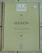 HANON The Virtuoso Pianist,Part 1-Preparatory Exercises,FJH Music Co.1995 NICE!