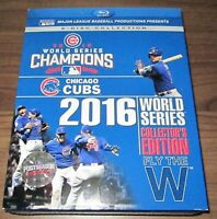 MLB: 2016 World Series Collectors Edition (Blu-ray Disc, 2016) Chicago Cubs, New