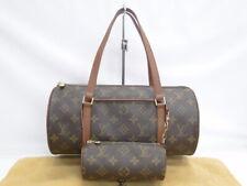 Louis Vuitton Papillon 30 Hand Bag Old Model M51365 Monogram Brown 43180058800 K