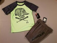 Under Armour Boys T-shirt and Shorts size 4
