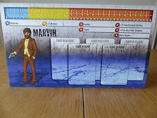 Zombicide-MARVIN-Carattere Pannello Di Controllo Card (solo scheda)