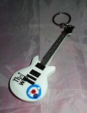 The Who 10cm Wooden Guitar Keyring logo