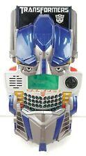 Transformers Optimus Prime Autobot Hand Held Electronic Game Hasbro 2007