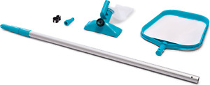 INTEX 28002 Pool-Reinigungsset mit Alu-Teleskopstange 239cm ausziehbar+Zubehör