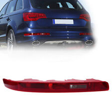 Left Side Rear Bumper Marker Reflector Tail Light Cover For Audi Q7 2009-2015