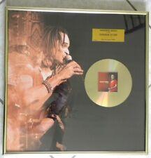 RARE VERITABLE DISQUE D OR YANNICK NOAH POUR ALBUM LIVE VAINQUEUR ROLAND GARROS