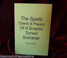 THE SPELLS CHANTS & PRAYERS OF A SCEPTIC Finbarr Grimoire Magic Magick Occult
