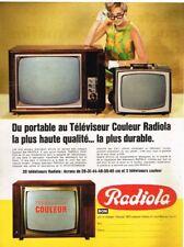 R- Publicité Advertising 1968 Televiseur Television Ribet Desjardins