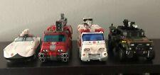 Transformers WFC Siege Lot Prowl, Ironhide, Ratchet & Hound