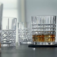 Nachtmann Highland Cut Pattern - Glass Whisky Tumblers Set of 4