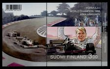 Finland 1098 MNH Mika Hakkinen, Formula 1 Champion, Race Car
