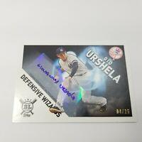 2020 MLB Baseball Topps Big League BL Gio Urshela 04/25 Wizards Auto Autograph