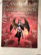 Anatomy for Fantasy Artists Illustrators Guide by Glenn Fabry Paperback 2005