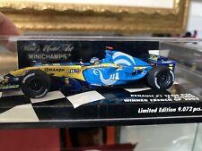 Fernando Alonso Benetton Renault 1:43 World Champion 2005 Minichamps Limite Ed.