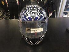 Casco helmet helm  ARAI CASCO ASTRO R TATTOO BLUE TG. L AR 2305LATB