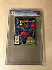 Superman #38 CGC 9.8 NM/MT top graded 1 OF 1 DC BLUE RIBBON DIGEST Supernatural