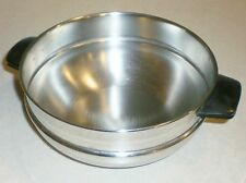"Farberware Stainless Steel 2-Handle DOUBLE BOILER Insert - Fits 7-1/2"" Pots"