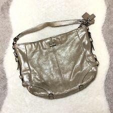 Coach Chelsea Metallic Leather Katarina Shimmer 19397 Hobo Shoulder Bag