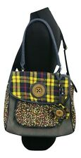 NEXT Handbag Yellow & Blue Satchal Weekend Evening Party Casual Everyday