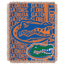 Florida Gators Woven Jacquard Tapestry Throw Blanket Spread