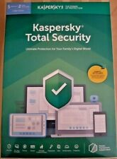 Kaspersky Total Security 2020 - 5 Devices / 2 User Accounts 1 Year (Key Card)
