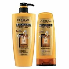 Combo Pack L'Oreal Paris Hex 6 Oil Shampoo & Conditioner 640ml & 175ml FS