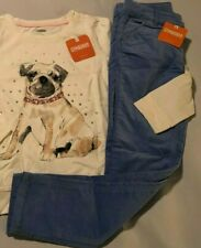 Gymboree New/Nwt Pants Only blue velvet pants with an adjustable waist size 7
